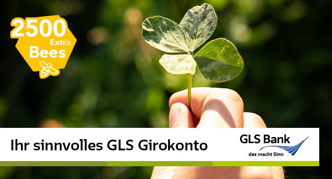 GLS Bank Aktion bis 31.07.2021!